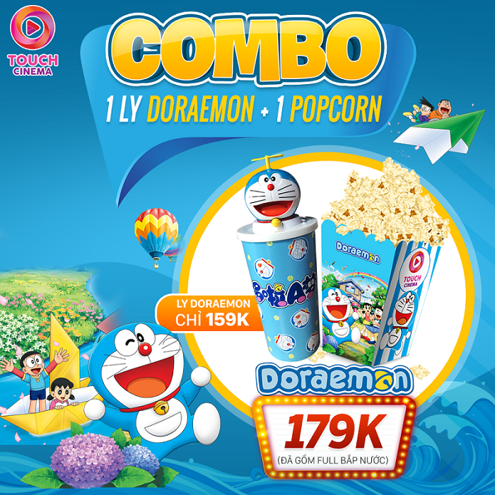 Combo Doraemon: Ly Cool - Hè Mát