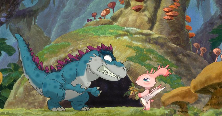 Review Phim Khủng long ăn chay – Câu chuyện về chú khủng long đặc biệt