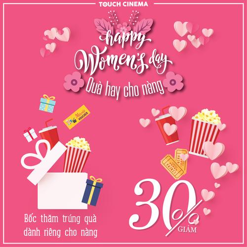 HAPPY WOMEN DAY - QUÀ HAY CHO NÀNG