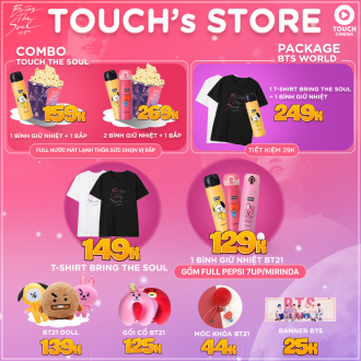 TOUCH'S STORE ĐỒNG HÀNH CÙNG BTS: BRING THE SOUL THE MOVIE