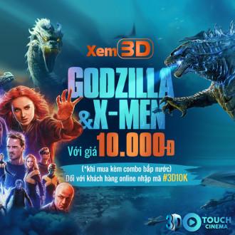 3D THẢ GA - GIÁ CHỈ 10K