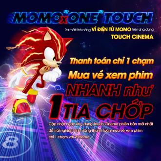 Hướng dẫn mua vé online Touch Cinema với ví điện tử Momo