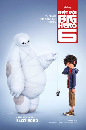 Biệt Đội Big Hero 6 (Lồng Tiếng)