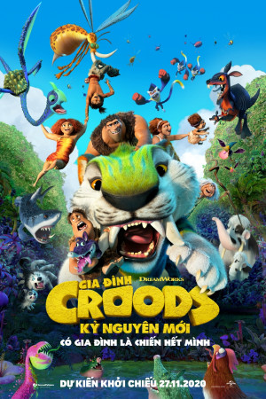 Gia Đình Croods: Kỷ Nguyên Mới (Lồng Tiếng)